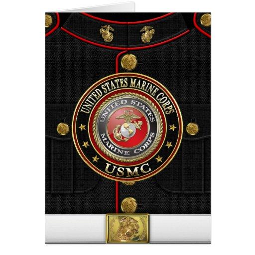 El USMC simboliza [la edición especial] [3D] Felicitacion