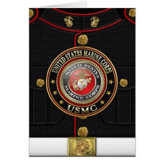 El USMC simboliza [la edición especial] [3D] Tarjeta De Felicitación