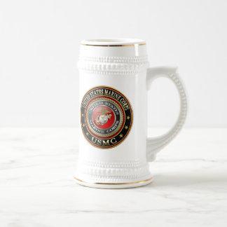 El USMC simboliza [la edición especial] [3D] Taza