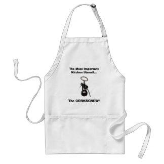 El utensilio más importante de la cocina delantal