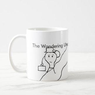 El útero que vaga taza de café