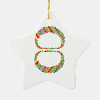 el V-line del collar de 8 ocho brazaletes de las Adorno De Cerámica En Forma De Estrella