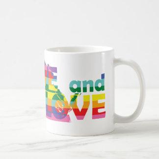 El VA vivo dejó amor Taza De Café