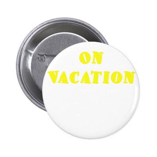 El vacaciones pin