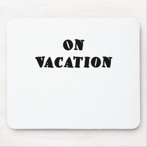 El vacaciones tapete de ratón