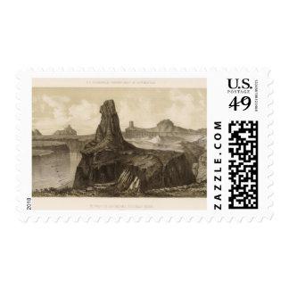 El Vado de Los Padres, Colorado River Postage