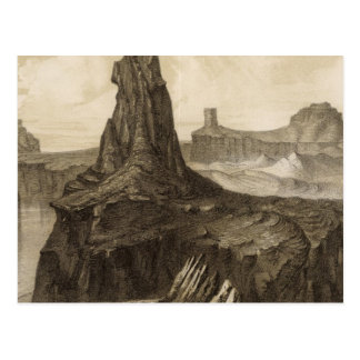 El Vado de Los Padres, Colorado River Postcard
