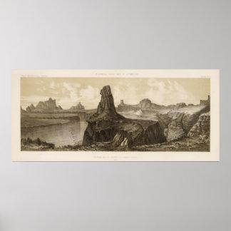 El Vado de Los Padres, Colorado River Poster