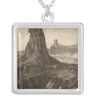 El Vado de Los Padres, Colorado River Silver Plated Necklace