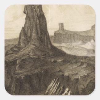 El Vado de Los Padres, Colorado River Square Sticker