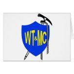 El vagabundear de Wellington y logotipo del club d Tarjetas