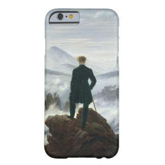 El vagabundo sobre el mar de la niebla, 1818 funda de iPhone 6 barely there