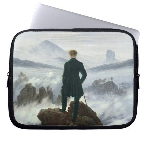 El vagabundo sobre el mar de la niebla, 1818 funda ordendadores