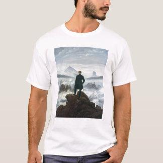 El vagabundo sobre el mar de la niebla, 1818 playera