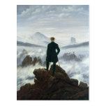 El vagabundo sobre el mar de la niebla, 1818 postales