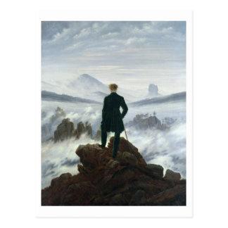 El vagabundo sobre el mar de la niebla, 1818 tarjetas postales