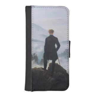 El vagabundo sobre el mar de la niebla billetera para iPhone 5