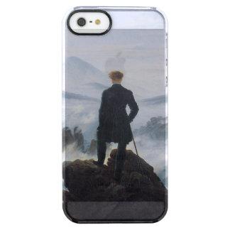 El vagabundo sobre el mar de la niebla funda clear para iPhone SE/5/5s