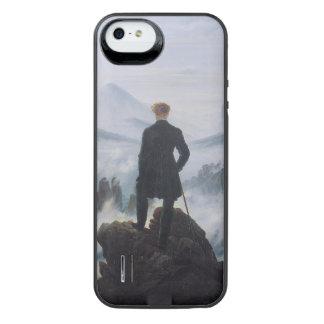 El vagabundo sobre el mar de la niebla funda con bateía para iPhone SE/5/5s