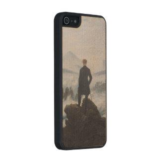 El vagabundo sobre el mar de la niebla funda de arce carved® para iPhone 5