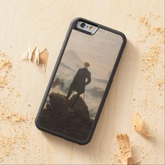 El vagabundo sobre el mar de la niebla funda de iPhone 6 bumper arce