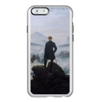 El vagabundo sobre el mar de la niebla funda para iPhone 6 plus incipio feather shine