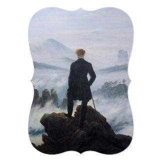 """El vagabundo sobre el mar de la niebla invitación 5"""" x 7"""""""