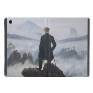 El vagabundo sobre el mar de la niebla iPad mini protectores