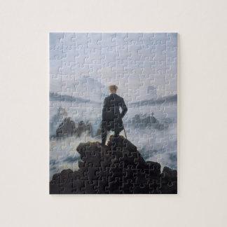 El vagabundo sobre el mar de la niebla rompecabezas