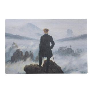 El vagabundo sobre el mar de la niebla salvamanteles