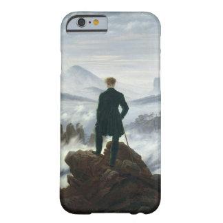 El vagabundo sobre el mar del caso del iPhone 6 de Funda Para iPhone 6 Barely There