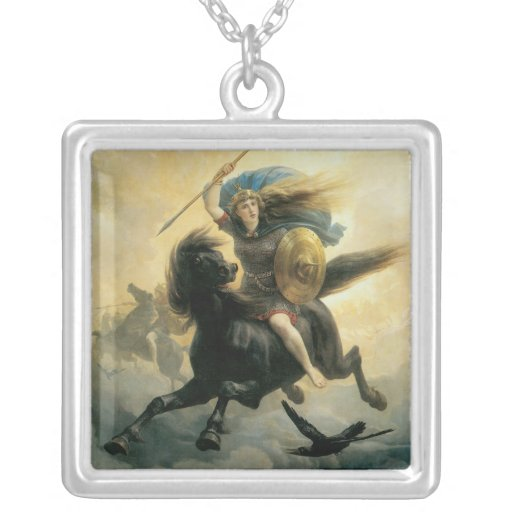 El Valkyrie, 1869 Collar Plateado