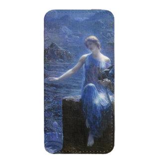El Valkyries Vigil (1906) por Edward Roberto Funda Acolchada Para iPhone