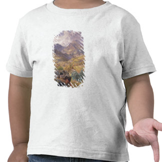 El Valle de Aosta, 1858 (aceite en lona) Camiseta