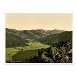 El valle de Gunther, bosque negro, Baden, cla de A Postal
