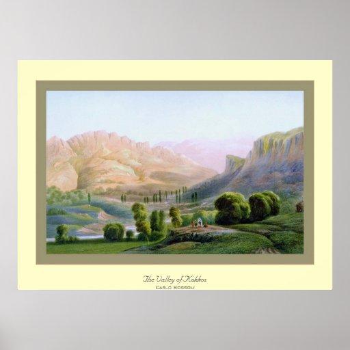 El valle de Kokkoz~ Carlo Bossoli Impresiones