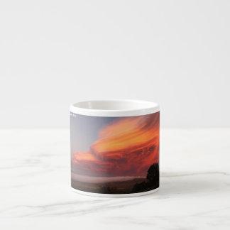 El valle de la sombra de la muerte… taza espresso