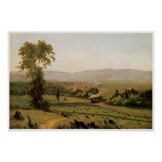 El valle de Lackawanna, 1855, George Inness Poster