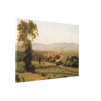 El valle de Lackawanna 1855 Impresión En Lona
