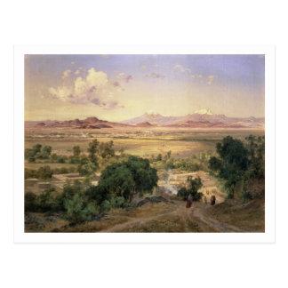 El valle de México del Ridge bajo de Tacubay Tarjeta Postal