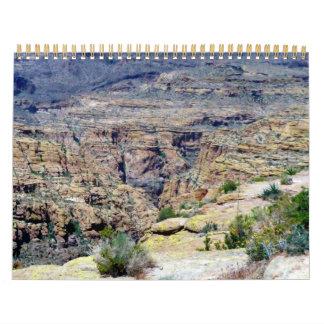 El valle de The Sun Calendarios