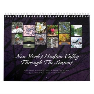 El valle del Hudson sazona el calendario de pared