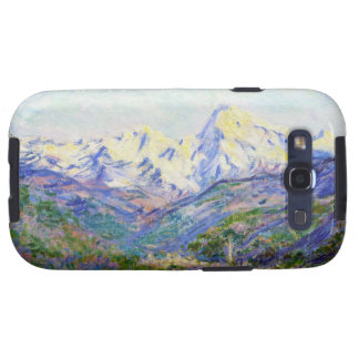 El valle del Nervia Claude Monet 1884 Galaxy S3 Cárcasa