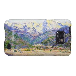 El valle del Nervia Claude Monet 1884 Galaxy SII Carcasas