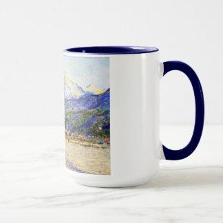 El valle del Nervia, Claude Monet 1884 Taza
