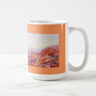 El valle dramático de Nevada del fuego Taza