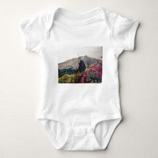 El Valle ,Panama WaterColor Baby Bodysuit
