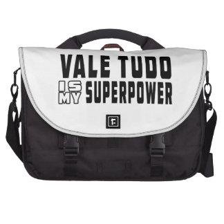 El valle Tudo es mi superpotencia Bolsas De Ordenador
