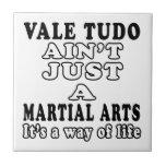 El valle Tudo no es apenas los artes marciales que Azulejo Cerámica