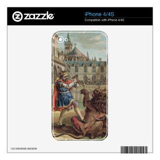El valor de Pepin (714-68), grabado por los vagos  iPhone 4 Calcomanías